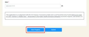 Save progress screenshot